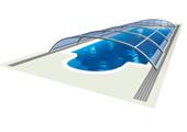AZURE flat kompakt покрития за басейни